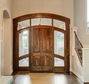 Custom Mahogany Entry Doors Vero Beach FL impact door installation