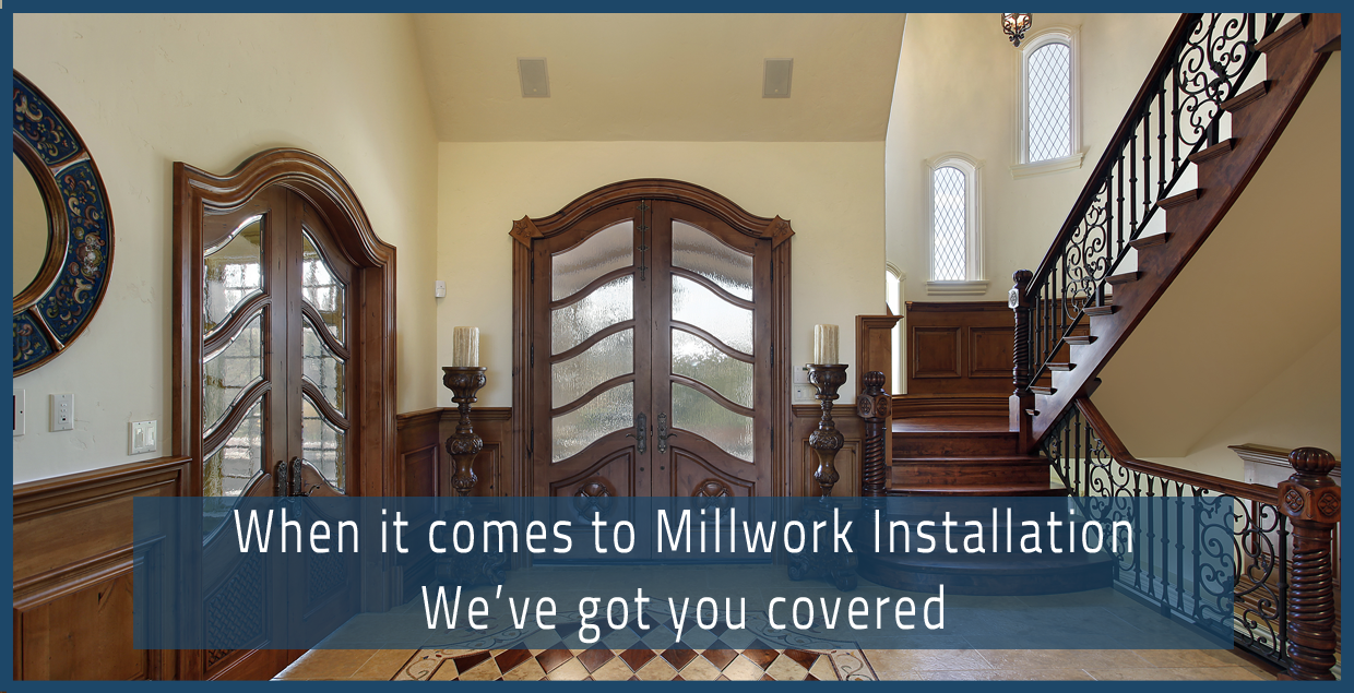 Millwork and Custom Mahogany Door Installation Contractor in Jupiter Palm Beach Stuart Vero Beach FL